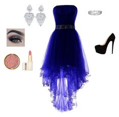 """Purple Prom"" by beccascurls ❤ liked on Polyvore featuring Effy Jewelry, Milani and L'Oréal Paris"