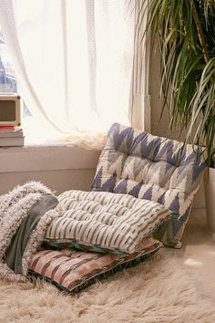 | H o u s e w a r e s | Iris Floor Pillow