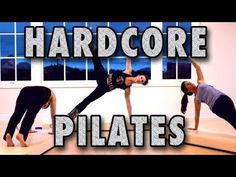 Try it! I'm doing it for St. Patrick's Day! Hardcore Pilates with Kathryn Ross-Nash