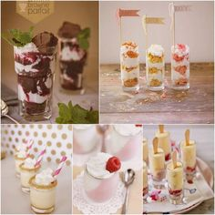 Pudding Dessert Shooter Shots - Enjoy our collection of wedding heaven in a shot glass! #wedding #dessert #pudding #shots #shooters
