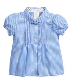 Blouse with pin-tucks | Product Detail | H&M