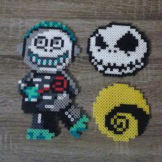 Disney-Nightmare Before Christmas Sprites Perler Beads