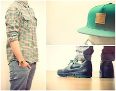 Stüssy Discover Plaid, Casio Db 310, Patta 5 Panel, Zara Grey, Nike Air Max 1 / Black History Month
