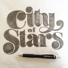 Solid lettering by type designer, lettering artist, calligrapher and visionary OSNS founde