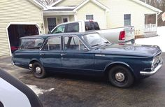 1965 Plymouth Valiant Station Wagon.