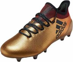 d232aa909398 adidas X 17.1 FG – Tactile Gold Metallic Solar Red