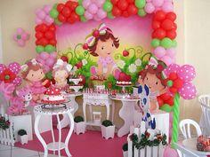 Strawberry Shortcake Birthday, Strawberry Baby, Baby First Birthday, Princesas Disney, Birthday Party Themes, Party Planning, First Birthdays, Baby Shower, Moana
