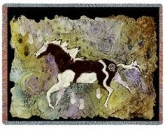 Magical Pinto Woven Woven Tapestry Throw