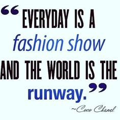 everyday is a fashion show and the world is the runway........ #fashionblogger #fashionbloggers #fashioninsta #fashionmurah #fashionbaby