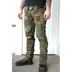 Bone Black Army Pants / Pants / MENS / Five & Diamond
