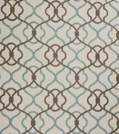 Home Decor 8''x 8'' Fabric Swatch Print Fabric-Eaton Square Monsoon Plume, , hi-res