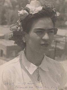 Frida Kahlo à 19 ans.