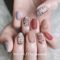 rug art❁ New design of rag art Moth Min 150 min design . Classy Nails, Stylish Nails, Simple Nails, Pretty Nail Art, Cute Nail Art, Fabulous Nails, Gorgeous Nails, Gel Nails, Acrylic Nails