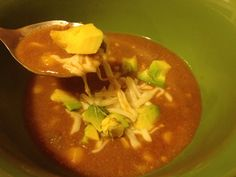 Refried Bean Soup...Protein Artist, tons of bariatric recipes.