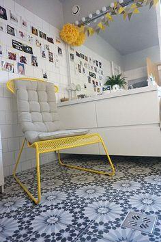 szepvolgyi_maroc_005_s Barcelona Chair, Marrakesh, Cement, Coffee Shop, Bathrooms, Tiles, Lounge, Design Inspiration, Flooring