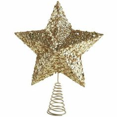 Gold Star Tree Topper -Pier 1 (for my tree)