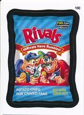 #100 RIVALS/RUFFLES CHIPS 2015 Topps Wacky Packages