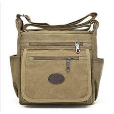 d113361800 2016 Casual Canvas Crossbody Mens Bag High Quality Men Messenger Bags  Should Handbag cm Free Drop Shipping