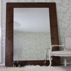 . The Moss Floor Standing Reclaimed Wood Mirror is a luxurious mirror handcrafted in the UK, using high quality reclaimed timber. It can also be custom made in the size of your choice.