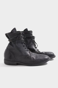 Grey Lace Boot | Guidi