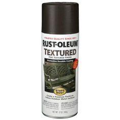Rust Oleum Stops Rust 12 oz Textured Dark Pewter Protective Enamel