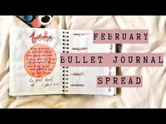 Zoë Taguma - YouTube February Bullet Journal, Bullet Journal Spread, Friends Instagram, Simple Words, Motivational Words, Make It Yourself, Youtube, Blog, Uplifting Words