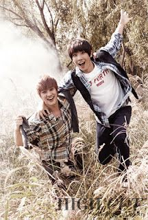 both my bias's from MBLAQ ^^