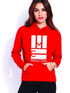 MAGCON Logo Hoodie (red)