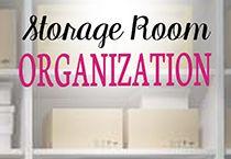 Organizing The Storage Room - Organize 365 storage and organization pictures - Storage And Organization Storage Room Organization, Organization Ideas, Storage Ideas, Food Storage, Small Closet Storage, Picture Storage, Ikea, Hacks, Retro