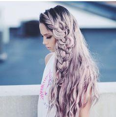 Kirsten Zellers Lavender Hair