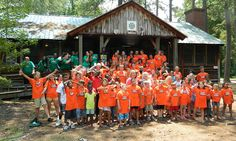 """""""Makes me feel better, they know what I am going through here"""" - daughter of late #NCNG SSG Mike Voss. Campers were sponsored by Golden Corral Corporation's 'Camp Corral', a series of one week summer camps for children of military families."""