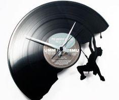 Uitgesneden Vinyl klokken