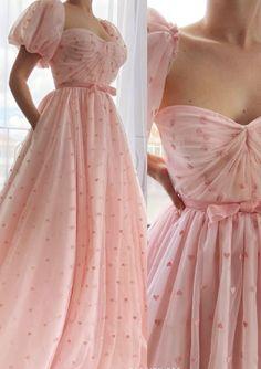 Cute Prom Dresses, Ball Dresses, Elegant Dresses, Pretty Dresses, Beautiful Dresses, Vintage Dresses, Ball Gowns, Cute Simple Dresses, Fairytale Dress