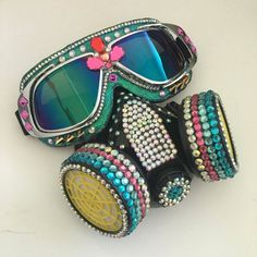 Burning Man Goggles Aviator goggles.Anti-Dust by BiCibeads on Etsy