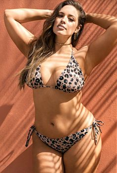 6992153e0b4c2 Ashley Graham x swimsuitsforall Heroina Leopard Bikini I might try this  one! Sports Illustrated