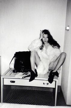 http://www.yatzer.com/The-Kate-Moss-Portfolio-and-Other-Stories                   photo © Gene Lemuel // Danziger Projects