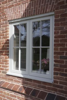 Timber Windows and doors manufactured to the highest possible standards by Mumford and Wood since Visit our website for more details. Double Casement Windows, Upvc Sash Windows, Timber Windows, Windows And Doors, Coloured Upvc Windows, Barn Windows, Window Frame Colours, Window Frames, Window Ideas