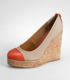 super cute Tory Burch wedge