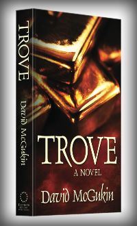 Ahhh. Nothing like a fresh paperback to go with a cup of coffee... Trove now available in print!