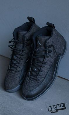 Shop Air Jordan 12 Retro GS 'Wool' - Air Jordan on GOAT. We guarantee authenticity on every sneaker purchase or your money back. Sneakers Mode, Sneakers Fashion, Jordans Sneakers, Shoes Sneakers, Kd Shoes, Yeezy Shoes, Adidas Shoes, Adidas Men, Air Jordan 12 Retro