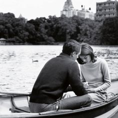 Romantic time on the river.