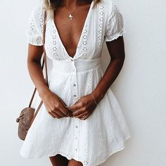 150 Summer Outfits to Wear Now Vol. / 150 Summer Outfits to Wear Now Vol. Dresses Elegant, Cute Dresses, Casual Dresses, Short Dresses, Cute Outfits, Dresses Dresses, Mini Dresses, Short Outfits, Beautiful Dresses