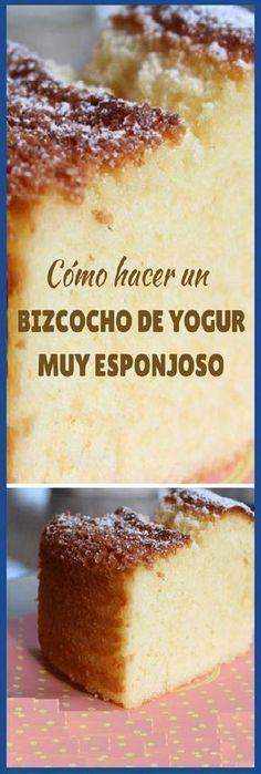 Lo Mejor Bizcocho de yogur muy esponjoso paso a paso y todos los tips. #bizcochoyogur #yogurt #yogur #lomejor #tips #esponjoso #panfrances #pain #bread #breadrecipes #パン #хлеб #brot #pane #crema #relleno #losmejores #cremas #rellenos #cakes #pan #panfrances #panettone #panes #pantone #pan #recetas #recipe #casero #torta #tartas #pastel #nestlecocina #bizcocho #bizcochuelo #tasty #cocina #chocolate Si te gusta dinos HOLA y dale a Me Gusta MIREN
