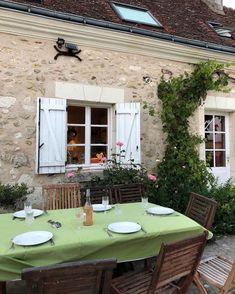 European Summer, Italian Summer, Future House, My House, Cottage, Backyard, Patio, Outdoor Furniture Sets, Outdoor Decor