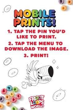 Keep your kids entertained by helping them add their our color to the Froot Loops World. Check out more fun activities and recipes on our Pinterest page. Froot Loops, Coloring For Kids, Fun Activities, More Fun, Entertaining, World, The World, Funny