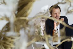 """Much as Perrier-Jouët has long embraced Art Nouveau's love of nature and enchantment, I took the idea of captivation in a natural setting as the inspiration for this motif"" says Internationally acclaimed Brazilian visual artist Vik Muniz #perrierjouet #VikMuniz #belleepoque #limitededition #champagne - Please Drink Responsibly"