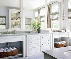 Bathroom/Mirrored Reflection