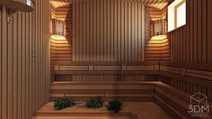 As luzes criam conforto e serenidade. Projecto por студия визуализации и дизайна интерьера ' Spas, Ceiling Lights, Lighting, Home Decor, Wood Interiors, Turkish Bath, At Home Spa, Design Ideas, Pictures