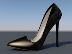This 3d-printed shoe design are definitely getting sexier with this design by Renato T. #3Dprinting #Fashion #Shoes