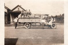 Purina Chows delivery truck   Vintage Snapshot by photopicker